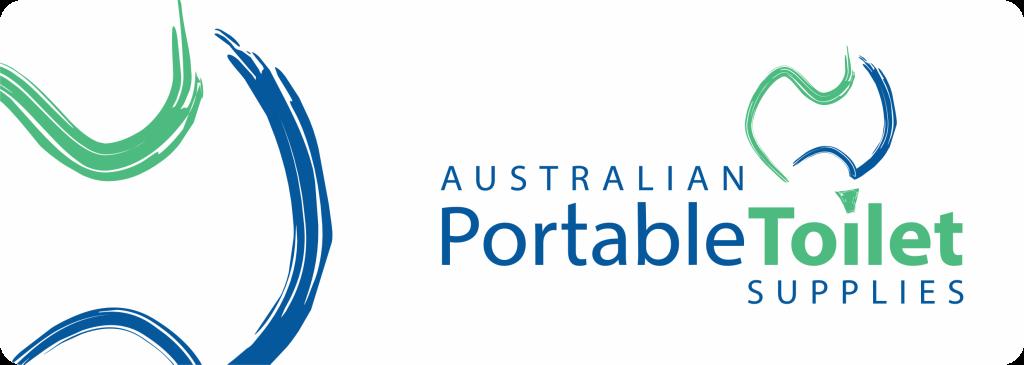 Australian Portable Toilets logo Before